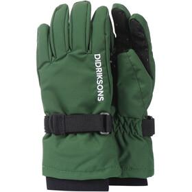 DIDRIKSONS Biggles Five Gloves Kids leaf green